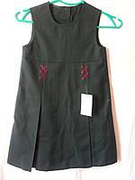 Шкільний сарафан синій ТМ Велма для дівчинки р. 116, фото 1