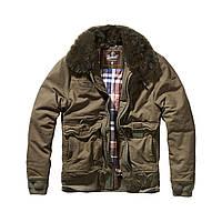 Куртка Brandit Perry Moleskin winterjacket XXL Оливковая 9443.1-XXL, КОД: 260832