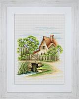 B2278 Летний пейзаж. Luca-S. Набор для вышивания нитками