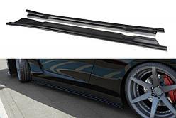 Бічні дифузори порогів Nissan GT-R Coupe (серія R35) дорестайл