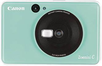 Фотокамера моментальной печати Canon Zoemini C green