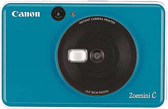 Фотокамера моментальной печати Canon Zoemini C blue