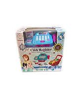 """Кассовый аппарат """"Frozen"""" 66051BX свет-звук,сканер,тележка,продукты, в кор."""