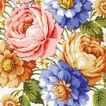 "Платок шерстяной с шелковой бахромой ""Малиновка"", 125х125 см. рис 1346-2, фото 3"