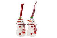 Мягкая новогодняя игрушка Снеговик, 46см, 2 вида BonaDi 778-245