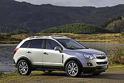 Спойлер на кришку багажника Opel Antara