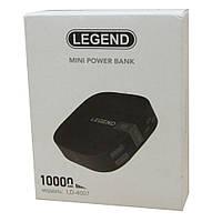 Портативное зарядное устройство Power Bank LEGEND LD-4007 10000mAh + ПОДАРОК D1041