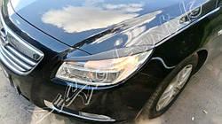 Накладки на фари (війки) Opel Insignia абс-пластик