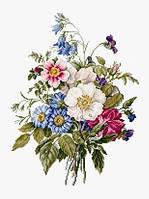 BU4004 Букет летних цветов. Luca-S. Набор для вышивания нитками