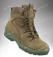Ботинки военные, кожаная демисезонная обувь, тактические полуботы деми