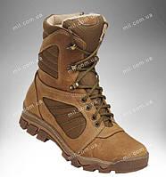 Военные берцы демисезонные, тактическая кожаная обувь деми, ботинки