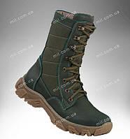 Берцы деми, военная тактическая обувь, кожаная демисезонная спецобувь