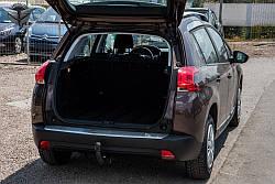 Захисна накладка на бампер (багажник) Peugeot 2008
