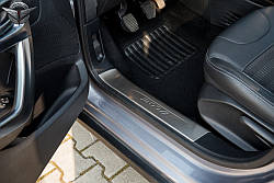 Захисні накладки на пороги Peugeot 2008 внутрішні