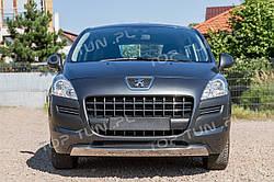 Хром накладки на бампера Peugeot 3008 дорест.