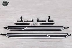 Пороги (подножки боковые) Peugeot 3008 II