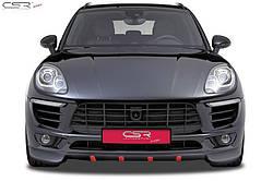 Спідниця (спойлер) переднього бампера Porsche Macan