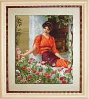 B474 Летние цветы. Luca-S. Набор для вышивания нитками