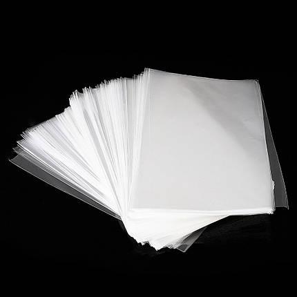 500Pcs OPP Прозрачная виолончель Сумки Целлофан Сумка Плоский карманный многоразовый пакет Сумка без клея - 1TopShop, фото 2