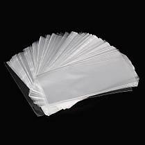 500Pcs OPP Прозрачная виолончель Сумки Целлофан Сумка Плоский карманный многоразовый пакет Сумка без клея - 1TopShop, фото 3