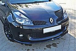 Дифузор переднього бампера Renault Clio RS 3