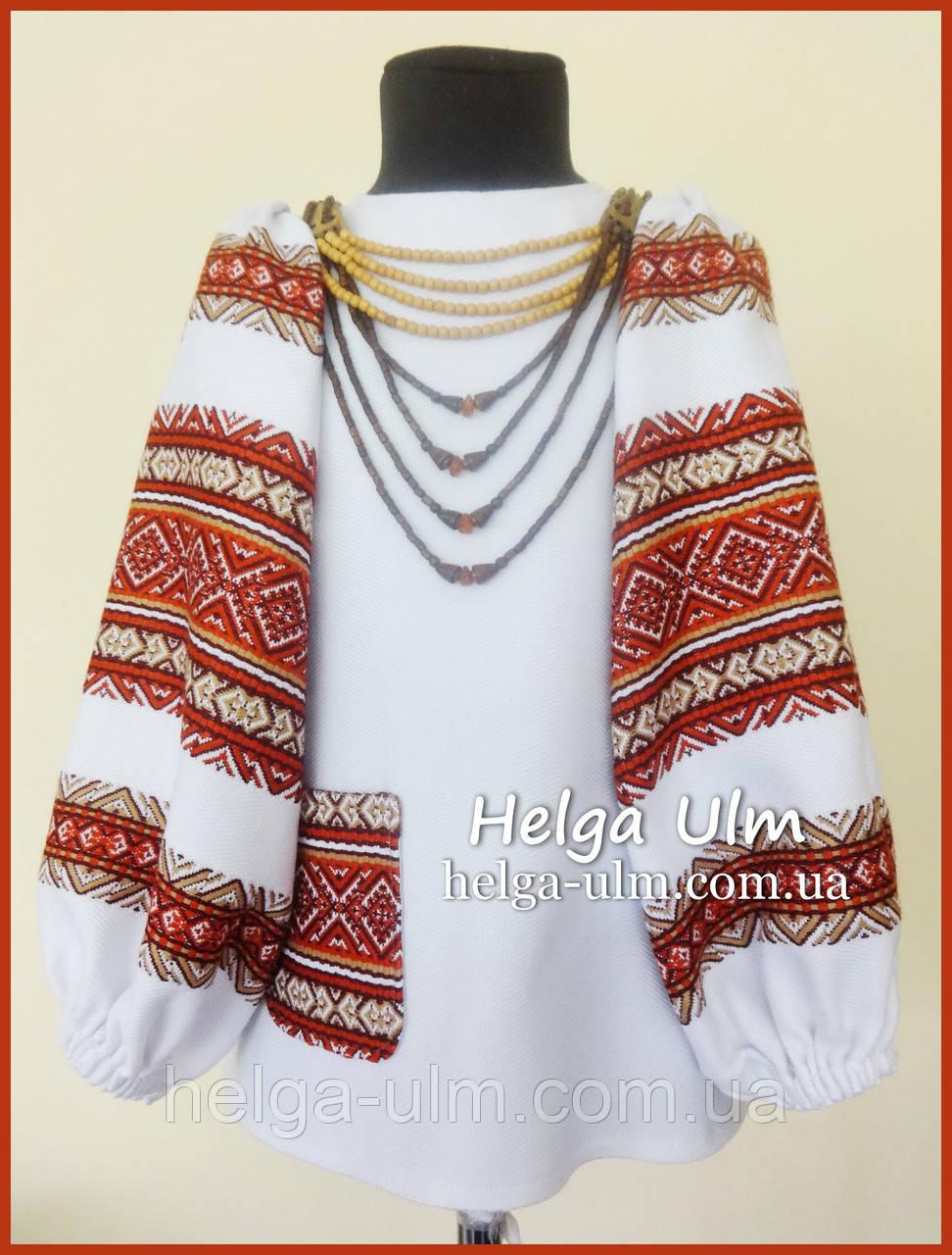 """Блуза, туніка для дівчинки """"Соборна"""" 104-128"""