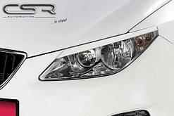 Війки (накладки на фари) Seat Ibiza 6J
