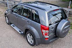 Пороги (бічні підніжки) Suzuki Grand Vitara (5 дверей)