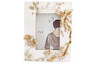 Рамка для фото Японсикй сад, 22.5см, цвет - белый с золотом BonaDi 450-171