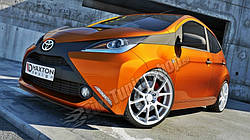 Дифузор переднього бампера Toyota Aygo MK2 (2014-...)