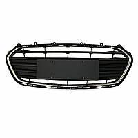 Черная решетка переднего бампера Нижняя крышка декоративной решетки для Chevrolet Trax 2017-2018-1TopShop