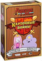 Настольная игра Hobby World Время приключений. Карточные войны: Принцесса Бубыльгум против Пупырки (Adventure Time Card Wars: Princess Bubblegum vs.