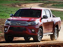 Решетка радиатора Toyota Hilux хромированная