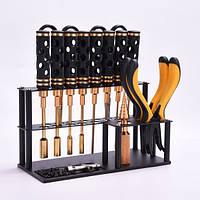 YUNZHONG Инструмент Стеллаж для хранения Винты Гараж Органайзер Металл Отвертка Держатель -1TopShop