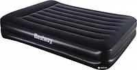 Надувная кровать со встроенным насосом Bestway 67403 Черный