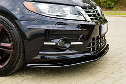 Дифузор переднього бампера Volkswagen Passat CC R-Line