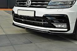 Диффузор переднего бампера Volkswagen Tiguan MK2 R-Line