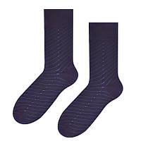 Мужские темно-синие носки Steven 056