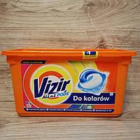 Капсулы для стирки Vizir колор, 41 шт