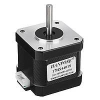 HANPOSE17HS4401-S40mmNema17Stepper Мотор 42 Мотор 42BYGH 1.7A 40N.cm 4-выводной Мотор для 3D принтера ЧПУ Лазер - 1TopShop