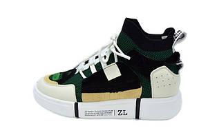 Кроссовки Allshoes 50011 ZL 556123 Green Gray