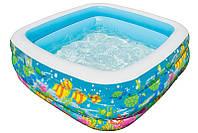 Надувной бассейн Intex 57471 159 х 159 х 50 см Аквариум (int57471)