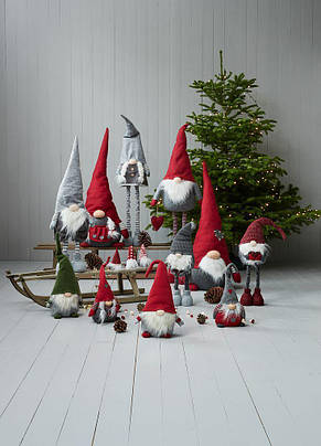 Новогодняя большая игрушка Санта (регулируемые ноги до 130 см), фото 3
