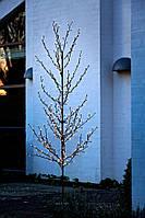Новогодняя инсталляция дерево - гирлянда для использовании на улице (высота 2 метра)