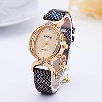 Мода Луна Кулон Повседневная Двусторонняя Дрель Овальная Женское Наручные часы - 1TopShop, фото 3
