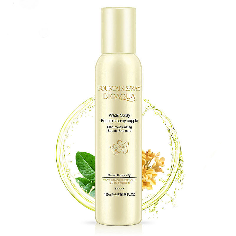 Увлажняющий спрей для лица с экстрактом османтуса BIOAQUA Fountain Spray Osmanthus