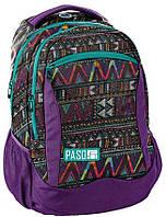 Рюкзак женский городской Paso Фиолетовый 18-2808CP, КОД: 1206627