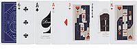 Карты для игры в покер Theory11 Jimmy Fallon Синие (krut_0714)