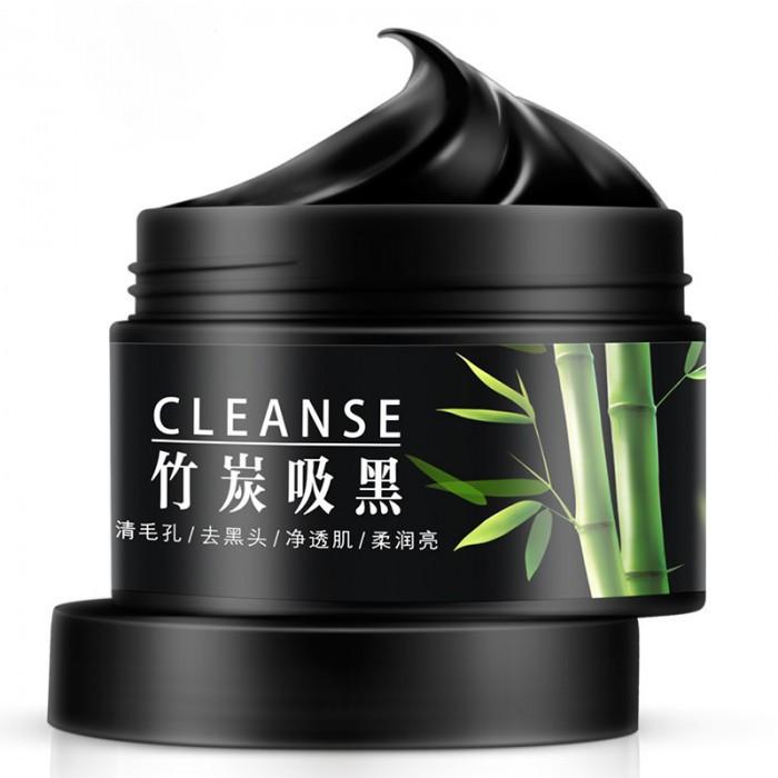 Маска для очищения пор с бамбуковым углём BIOAQUA Bamboo Charcoal Translucent Washing Mask