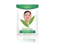 Крем-маска ночная «Зеленый чай», 18г